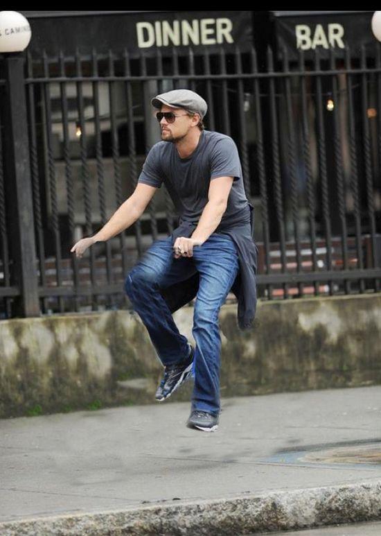 DiCaprio sin bici