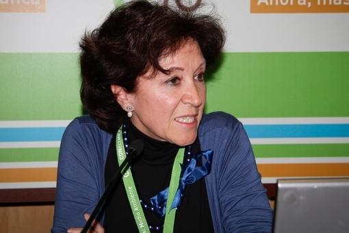 La Directora General de Sostenibilidad y Planificación de la Movilidad, doña Elisa Barahona Nieto