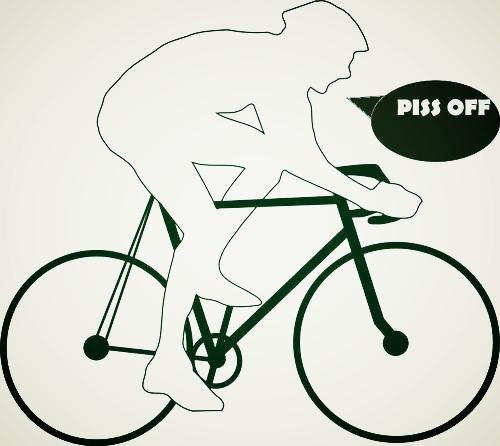 Ciclistas molestos, una iniciativa ciudana.