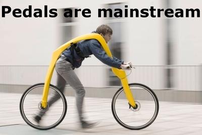 Los pedales son mainstream