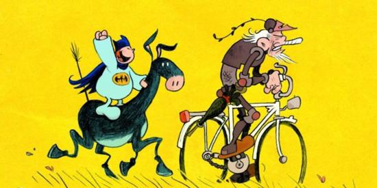 Imagen de Don Quijote del dibujante alemán Flix.
