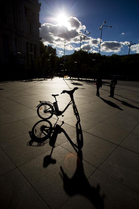 Prototipo de la bicleta pública. Samu Sánchez